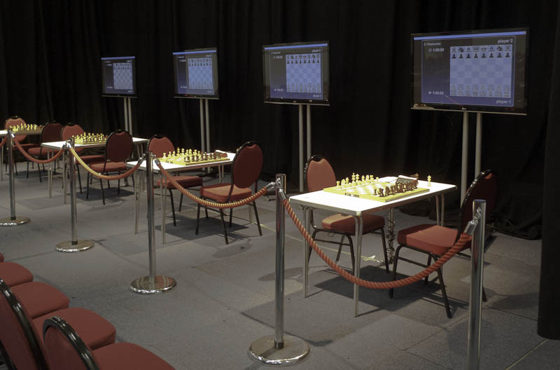 Photo: Sieges Perilous - where the top players sit in the public gaze
