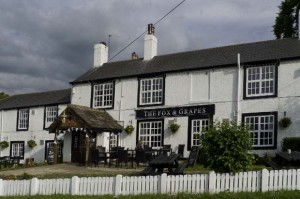Photo of the club meetingplace, the Fox & Grapes